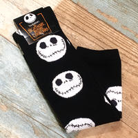 The Nightmare Before Christmas Long Socks Black