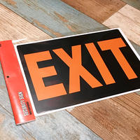 Security Sign EXIT