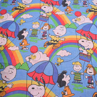 Peanuts Sheet Rainbow