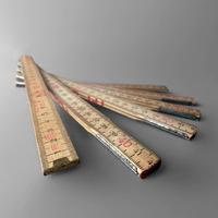 NM605 Vintage Folding Ruler ④