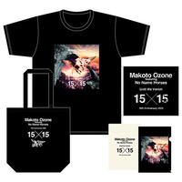 NNH15周年記念●スペシャルセット Tシャツ<カラー>+トートバッグ<黒>