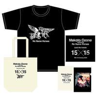 NNH15周年記念●スペシャルセット Tシャツ<モノトーン>+トートバッグ<ナチュラル>