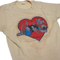 1980's POPEYE & OLIVE sex t-shirts  実寸(S)