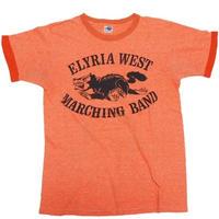 1980's  希少なオレンジ杢ボディ T-shirts  表記(M)