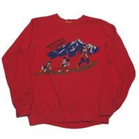 1980's Disney sweat  まさかの日本製  実寸(S)