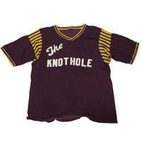 1960's〜 vintage レーヨンナンバリングT-shirts 実寸(M-L)