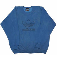 《 indigo zombies》1990's USA製adidas sweat   表記(M)