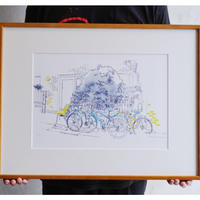 <Mariya Suzuki> ルームアート「Bike」