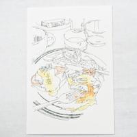 <Mariya Suzuki>ポストカード「Hotel Noum」2枚セット