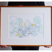 <Mariya Suzuki> ルームアート「City」