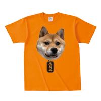 ■杉浦軍Tシャツ(豆柴)(オレンジ)