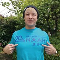 ■ノアロゴ20th記念(ザ・リーヴ)Tシャツ(インターネットサイン会)