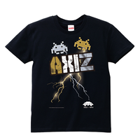 ■AXIZ×スペースインベーダーTシャツ