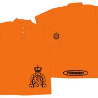 PD masterポロシャツオレンジ【L】虎の巻付