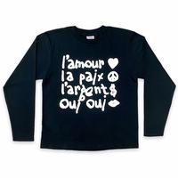Oui Oui   Long T-shirt     黒