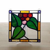 ステンドグラスパネル ガーデン Sサイズ