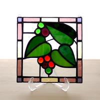 ステンドグラスパネル ガーデン Mサイズ