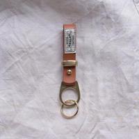 レザーKey holder brown