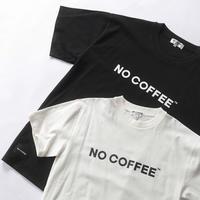 NO COFFEE ロゴTシャツ Ver.2.1