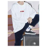 "Comeback My  Daughters""Girl""赤 Long Sleeve T"