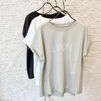 """""""LYON""""ロゴ Tシャツ"""