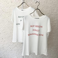 メッセージロゴTシャツ