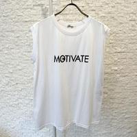 """MOTIVATE""ロゴタンクトップ"