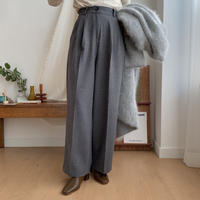 ✳︎予約販売✳︎long length wide pants/2colors_np0114