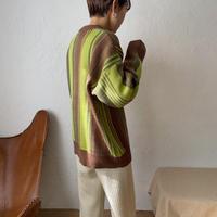 《予約販売》contrast knit_nt0803