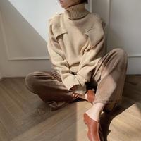 ✳︎予約販売✳︎ point knit_nt0131