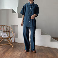 《予約販売》round  quality shirt/2colors_nt0467