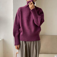 《予約販売》simply lib knit/3colors_nt0760