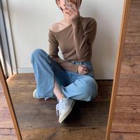 《予約販売》one shoulder pullover/2colors_nt0349