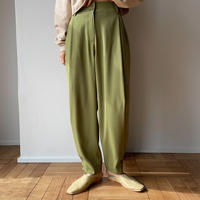 【nokcha original】tuck color pants/light green_np0346