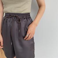 《予約販売》satin half pants/2colors_np0425