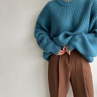 《予約販売》a/w worm over knit/2colors_nt1108