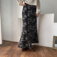 《予約販売》floral long skirt/2colors_ns0046
