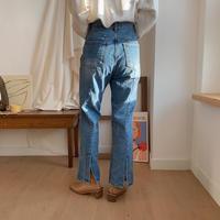 ✳︎予約販売✳︎back slit jeans_np0126