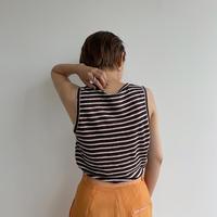 《予約販売》stripe linen tank top/3colors_nt0978