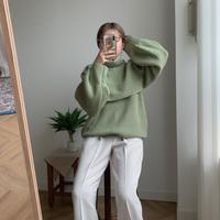✳︎予約販売✳︎ high neck set knit/2colors_nt0083