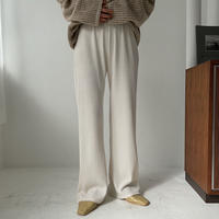 《予約販売》random lib knit pants/3colors_np0337
