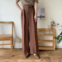 《予約販売》bottan s/s wide pants/2colors_np0180