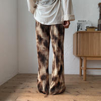 《予約販売》mosaic pleats pants/2colors_np0253
