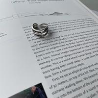 《予約販売》silver925 nuance lady ring_na0310