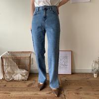 《予約販売》simply slit jeans/2 colors_np0176