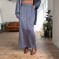 《予約販売》glossy lady long sk/2colors_ns0043