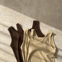【nokcha original】layered tank top/2colors_nt0891