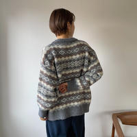 《予約販売》unique pattern warm knit/2colors_nt0743