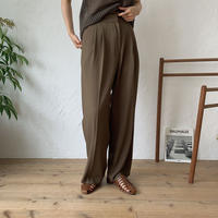 《予約販売》light quality wide pants/2colors_np0187