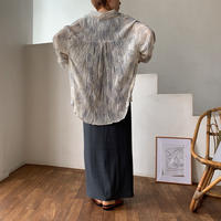《予約販売》bokashi rincl blouse/2colors_nt0530